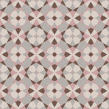 Διακοσμητικό γεωμετρικό σχέδιο που αποτελείται από τα τρίγωνα Στοκ φωτογραφία με δικαίωμα ελεύθερης χρήσης
