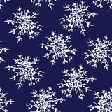 Διακοσμητικό διανυσματικό Snowflakes ή λουλούδι καθορισμένα - συνδετήρας-τέχνη χειμερινής σειράς διανυσματική απεικόνιση