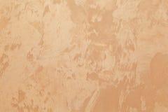 Διακοσμητικό επίστρωμα για τους τοίχους - μπεζ, πορτοκαλί μετάξι, χειροποίητο στοκ φωτογραφία με δικαίωμα ελεύθερης χρήσης