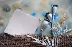 Διακοσμητικό κολάζ με το ρυθμό για το απόσπασμα, το ρητό, το θετικό ή εμπνευσμένο σύνθημα Πλαίσιο αφισών Στοκ Εικόνα