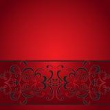 διακοσμητικό κόκκινο λωρίδα απεικόνιση αποθεμάτων