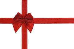 διακοσμητικό κόκκινο τόξ&omega Στοκ φωτογραφία με δικαίωμα ελεύθερης χρήσης