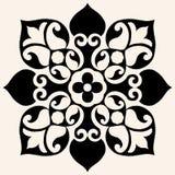 διακοσμητικό λουλούδι διανυσματική απεικόνιση