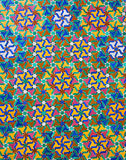 Διακοσμητικό μαροκινό κεραμίδι Στοκ φωτογραφία με δικαίωμα ελεύθερης χρήσης
