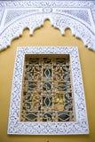 διακοσμητικό μαροκινό παράθυρο Στοκ Φωτογραφία