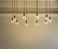 Διακοσμητικό παλαιό φως ύφους του Edison Στοκ Φωτογραφίες