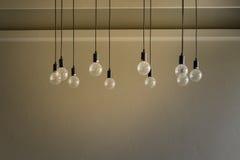 Διακοσμητικό παλαιό φως ύφους του Edison Στοκ φωτογραφίες με δικαίωμα ελεύθερης χρήσης