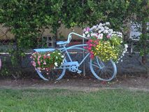 Διακοσμητικό ποδήλατο στοκ εικόνα