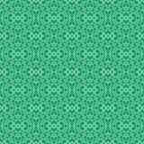 Διακοσμητικό πράσινο σχέδιο Στοκ Φωτογραφίες