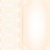Διακοσμητικό πρότυπο με τη θέση για το κείμενο Στοκ Εικόνες