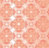 Διακοσμητικό ρόδινο floral υπόβαθρο Άνευ ραφής σχέδιο για τα des σας Στοκ Εικόνες