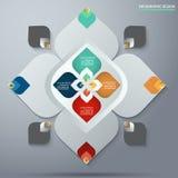 Διακοσμητικό στοιχείο σχεδίων της Ταϊλάνδης για το σχέδιο Infographic Στοκ φωτογραφίες με δικαίωμα ελεύθερης χρήσης