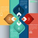 Διακοσμητικό στοιχείο σχεδίων της Ταϊλάνδης για το infographic σχέδιο Ep2 Στοκ εικόνες με δικαίωμα ελεύθερης χρήσης