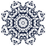 Διακοσμητικό στρογγυλό περίκομψο mandala για την τυπωμένη ύλη ή το σχέδιο Ιστού Αφηρημένο υπόβαθρο Mandala Ελεύθερη απεικόνιση δικαιώματος