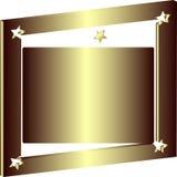 διακοσμητικό τετράγωνο πλαισίων Στοκ Εικόνα