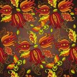 Διακοσμητικό υπόβαθρο λουλουδιών Στοκ Εικόνα