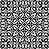 Διακοσμητικό υπόβαθρο σχεδίων λουλουδιών γραπτό άνευ ραφής επαναλαμβανόμενο γεωμετρικό Κλωστοϋφαντουργικό προϊόν, βιβλία, Ελεύθερη απεικόνιση δικαιώματος