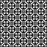 Διακοσμητικό υπόβαθρο σχεδίων λουλουδιών γραπτό άνευ ραφής επαναλαμβανόμενο γεωμετρικό Κλωστοϋφαντουργικό προϊόν, βιβλία, Απεικόνιση αποθεμάτων
