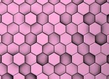 Διακοσμητικό υπόβαθρο της σύστασης με ιώδη hexagons στοκ φωτογραφίες με δικαίωμα ελεύθερης χρήσης