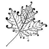 Διακοσμητικό φύλλο σφενδάμου Στοκ Εικόνες