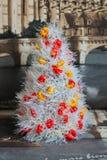 Διακοσμητικό χριστουγεννιάτικο δέντρο, Χριστούγεννα Στοκ Φωτογραφία