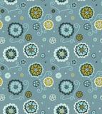 Διακοσμητικό floral άνευ ραφής πρότυπο Στοκ Φωτογραφία
