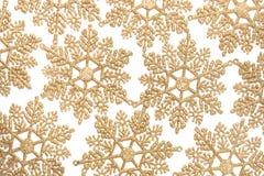 Διακοσμητικό snowflake Χριστουγέννων Στοκ εικόνα με δικαίωμα ελεύθερης χρήσης