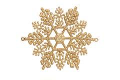 Διακοσμητικό snowflake Χριστουγέννων Στοκ Εικόνες