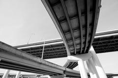διακρατικό overpass στοκ φωτογραφία με δικαίωμα ελεύθερης χρήσης