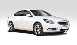 Διακριτικά Opel στο λευκό Στοκ εικόνα με δικαίωμα ελεύθερης χρήσης