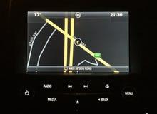 Διακριτικά Vauxhall satnav Στοκ φωτογραφίες με δικαίωμα ελεύθερης χρήσης