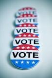 Διακριτικό για την Ηνωμένη εκλογή στοκ φωτογραφία με δικαίωμα ελεύθερης χρήσης