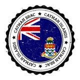Διακριτικό σημαιών Brac Cayman ελεύθερη απεικόνιση δικαιώματος