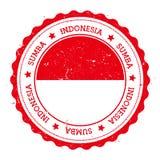 Διακριτικό σημαιών Sumba διανυσματική απεικόνιση