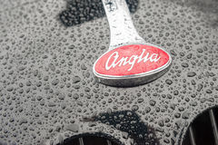 Διακριτικό της Ford Anglia Στοκ Φωτογραφία