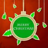 Διακριτικό Χριστουγέννων Στοκ Εικόνες