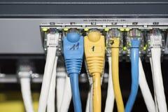 Διακόπτης δικτύων Ethernet Στοκ Φωτογραφία