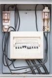 Διακόπτης, ηλεκτρικό σύστημα Στοκ φωτογραφία με δικαίωμα ελεύθερης χρήσης