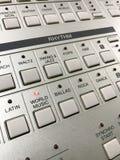 Διακόπτης κουμπιών για τον επίλεκτο ρυθμό της μουσικής Στοκ φωτογραφίες με δικαίωμα ελεύθερης χρήσης