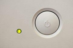διακόπτης κουμπιών Στοκ εικόνες με δικαίωμα ελεύθερης χρήσης