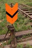 Διακόπτης ραγών σιδηροδρόμων Στοκ Εικόνες