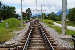 Διακόπτης σιδηροδρόμου στοκ φωτογραφία