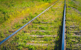 Διακόπτης σιδηροδρόμου, συγκέντρωση Διακόπτης σιδηροδρόμου του παλαιού σταθμού τρένου Στοκ Εικόνες
