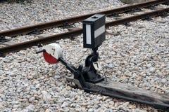 Διακόπτης σιδηροδρόμων Στοκ Φωτογραφίες