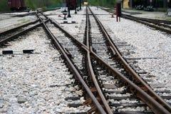 Διακόπτης σιδηροδρόμων Στοκ φωτογραφία με δικαίωμα ελεύθερης χρήσης