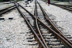 Διακόπτης σιδηροδρόμων Στοκ Εικόνες