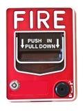 Διακόπτης συναγερμών πυρκαγιάς στοκ εικόνα με δικαίωμα ελεύθερης χρήσης
