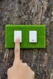 Διακόπτης Eco στοκ εικόνες με δικαίωμα ελεύθερης χρήσης