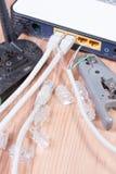 Διακόπτης Ethernet Στοκ Φωτογραφία