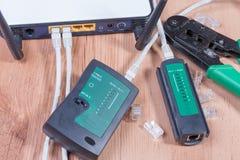 Διακόπτης Ethernet Στοκ εικόνα με δικαίωμα ελεύθερης χρήσης